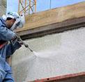 Limpieza de fachadas con agua a presión de suelos